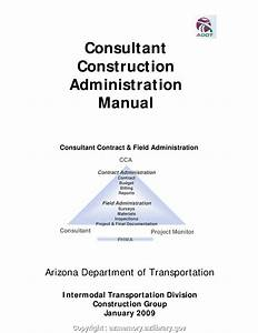 Unique Construction Project Manual Adot Consultant