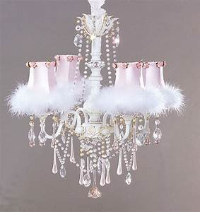 Creative Lighting Option: Shabby Chic Chandelier
