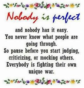 Not Judging Others Quotes. QuotesGram