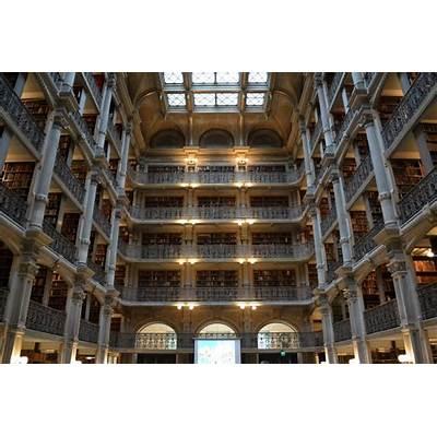 Panoramio - Photo of George Peabody Library