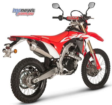 2019 Honda 450l by Honda Crf450r Based Road Enduro Bike On Way Mcnews