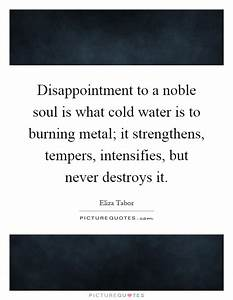 Disappointment ... Burning Soul Quotes