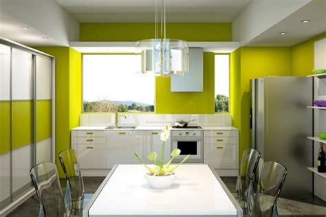 couleurs pour une cuisine cuisine peinture mur