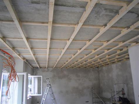 unterkonstruktion fuer decke  wohnesszimmerkueche fertig