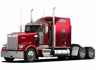 Truck Semi Clipart Peterbilt Trucks Freightliner Silhouette