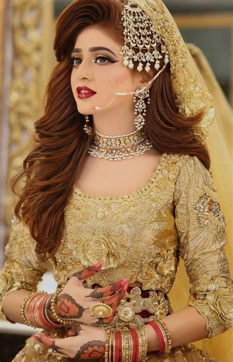 latest pakistani bridal makeup ideas   kashees