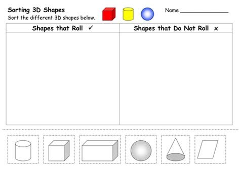 2d and 3d shape worksheets by ehazelden teaching resources tes