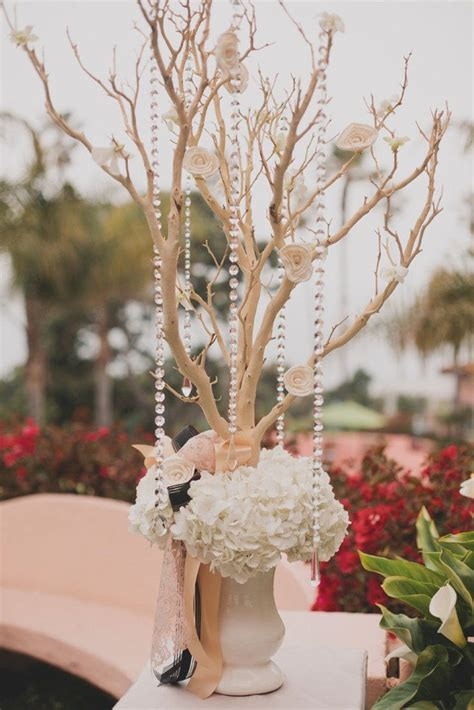 Pearls For Decoration - 180 best branch wedding centerpieces images on