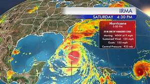 Hurricane Irma slowly moving toward Florida from Cuba with ...