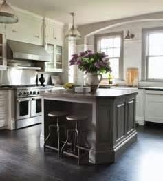 gray kitchen island pin by hirsch on kitchen
