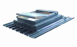 Rehausse Velux Toit Faible Pente : embase d 39 adaptation fen tre de toit sur bac acier agora sod si ~ Nature-et-papiers.com Idées de Décoration