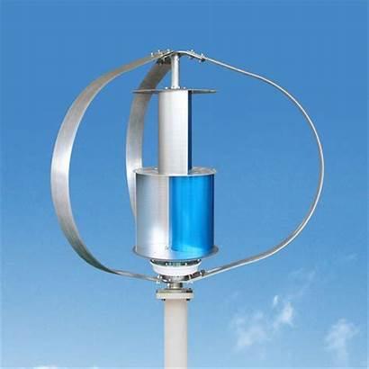 Wind Turbine Vertical Generator Roof Mounted Axis