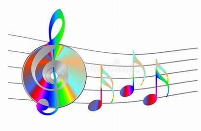 Cd Notes Musical Note Illustration Internet Song
