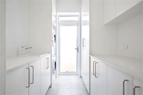 kitchen cabinets for used laundry renovations northern beaches custom designed 8042