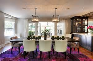 Purple Dining Room Rug