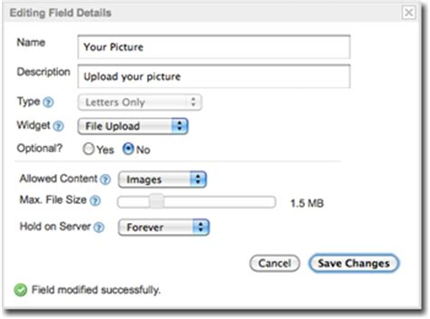 attach  file   form   click file upload  easy