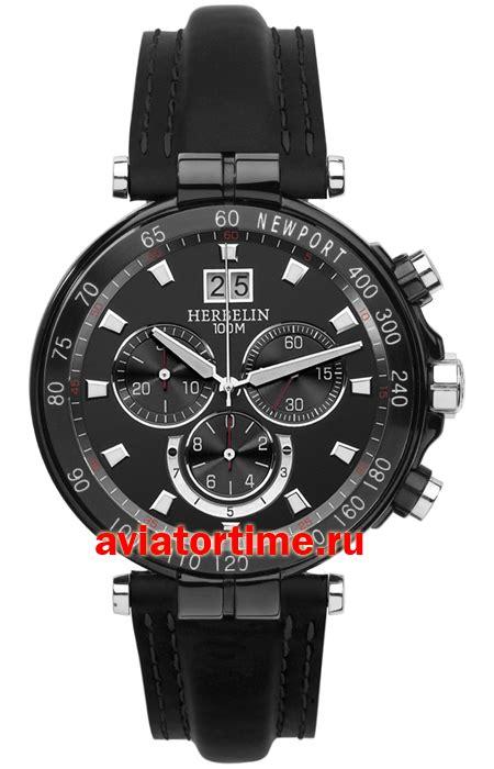 Швейцарские наручные часы michel herbelin 36655 nn14 sm newport yacht club chronograph