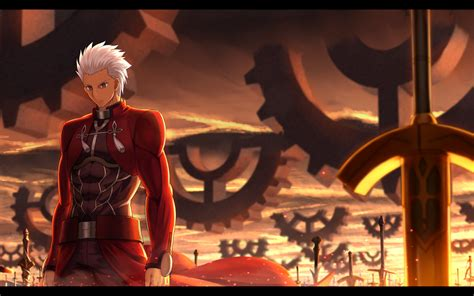 archer fate stay night fate series fate stay night