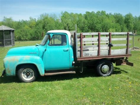 buy used 1955 ford f250 v8 in luck wisconsin united states