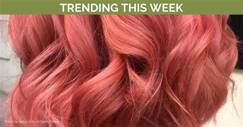 Trending Hair Colors This Week (with Formulas!)