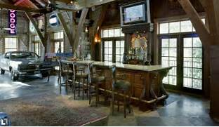 Basement Eclectic Design Ideas With Bar Custom Bar Den Garage Manspace Clutter Free Storage Areas Garages Attics Basements Mini Barns Garage Remodeling Tips2 Neglected Spaces Shorian Painting And Construction