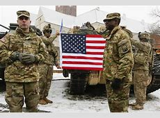 2 US Soldiers Hurt in Ammunition Truck Accident in Poland