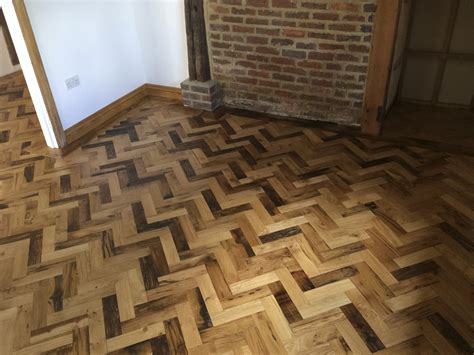 parquet flooring laminate reclaimed herringbone parquet flooring project