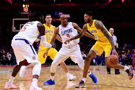 lakers  clippers season opener start time tv schedule