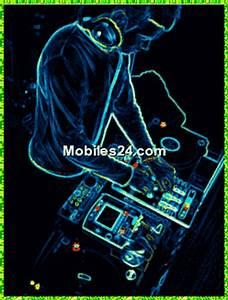 Neon Dj Free Mobile Phone Screensaver Download