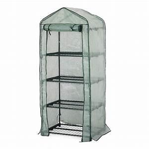 Etagere Pour Serre : serre de balcon souple avec 4 tag res 50x70x162cm ~ Premium-room.com Idées de Décoration