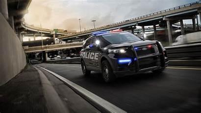 4k Police Ford Interceptor Utility Wallpapers 2160