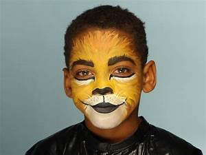 Kid's Halloween Makeup Tutorial: Lion | HGTV