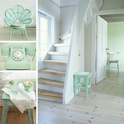 retro bathroom ideas paleta de colores verde menta o mint decoracion de