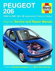 Haynes Manual Peugeot 206 Petrol  U0026 Diesel  1998