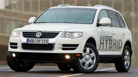 Volkswagen Touareg Hybrid Prototype 2009 Wallpapers And