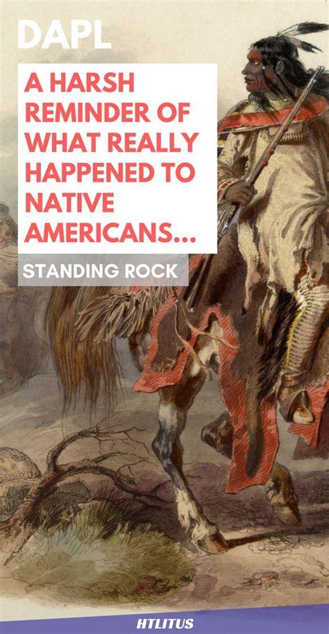 harsh reminder    happened  native