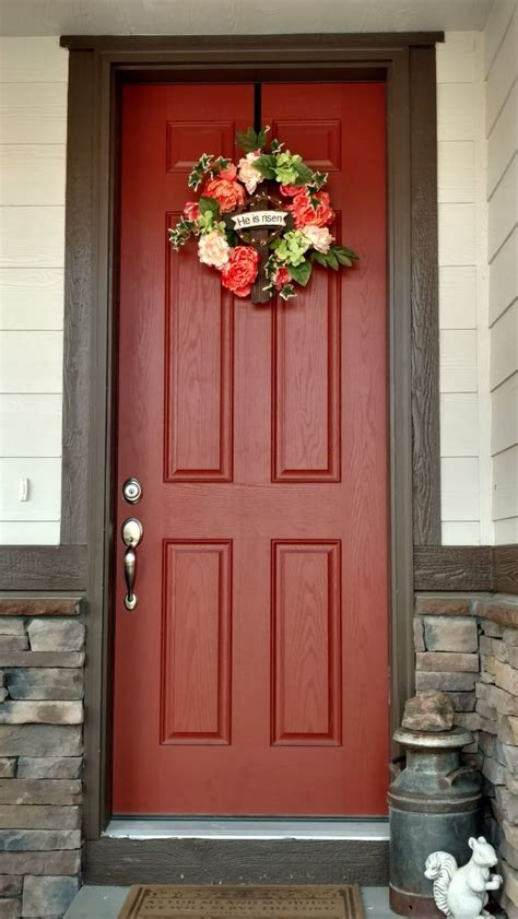 coral color decor 17 best ideas about coral door on coral color