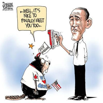 president obamas buy american campaign  hurt canada