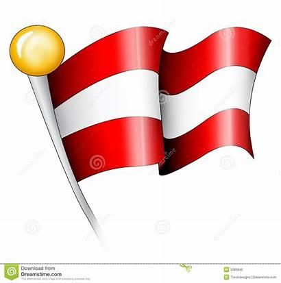 Flag Austrian Illustration Royalty Dreamstime