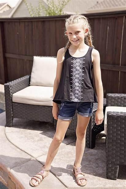 Preteen Tween Kidpik Teen Summer Shorts Skirt