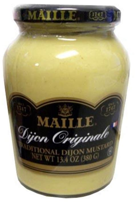 what is dijon mustard dijon mustard maille 13 4oz 380g label may read hot parthenon foods