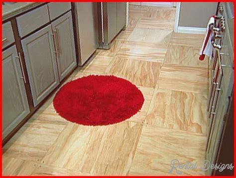 Plywood Flooring Ideas   RentalDesigns.Com