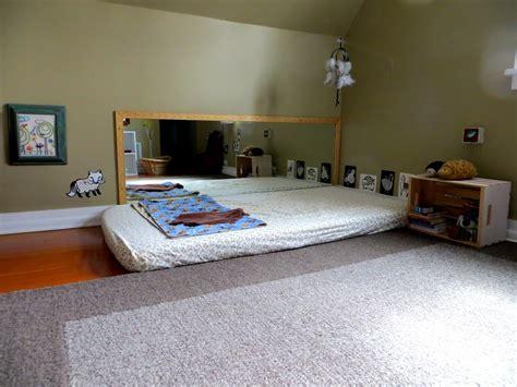 chambre enfant montessori exemple de chambre montessori en photo
