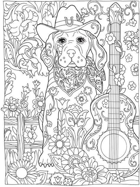 ausmalbilder hunde fuer erwachsene mandala