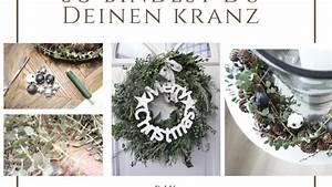 Adventskranz Ohne Rohling Binden : advent advent ein lichtlein brennt adventskranz selber binden anleitung deko hus ~ Markanthonyermac.com Haus und Dekorationen