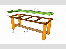 Woodwork Build Outdoor Table PDF Plans