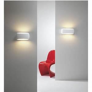 Wandleuchte Up Down : elegante design wandleuchte gro gips wei up down light aria 370 ~ Orissabook.com Haus und Dekorationen