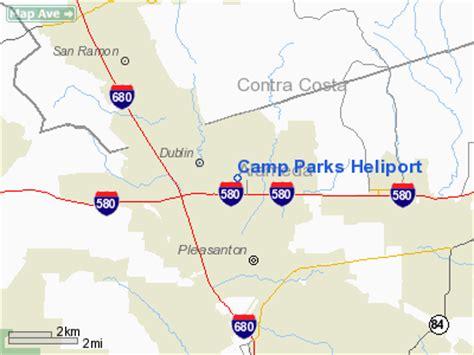 camp parks heliport