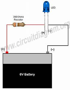 Simple Basic Led Circuit