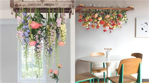 Home Interior Flower Pictures : Raining Flowers Above Your Dining Table